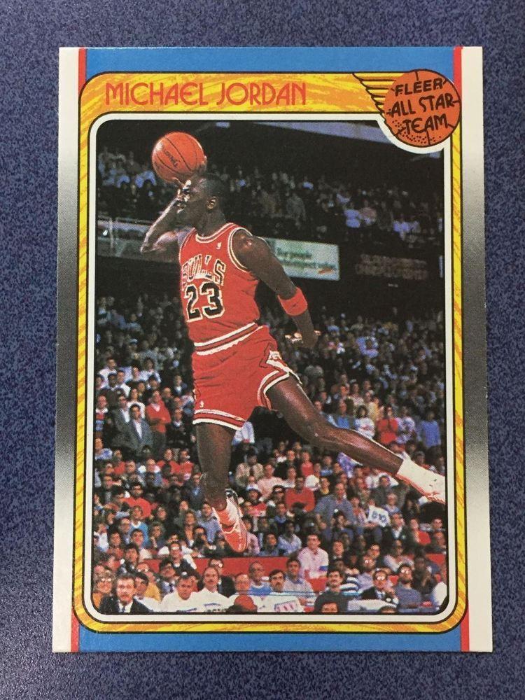 198889 Fleer 120 MICHAEL JORDAN AllStar Chicago Bulls