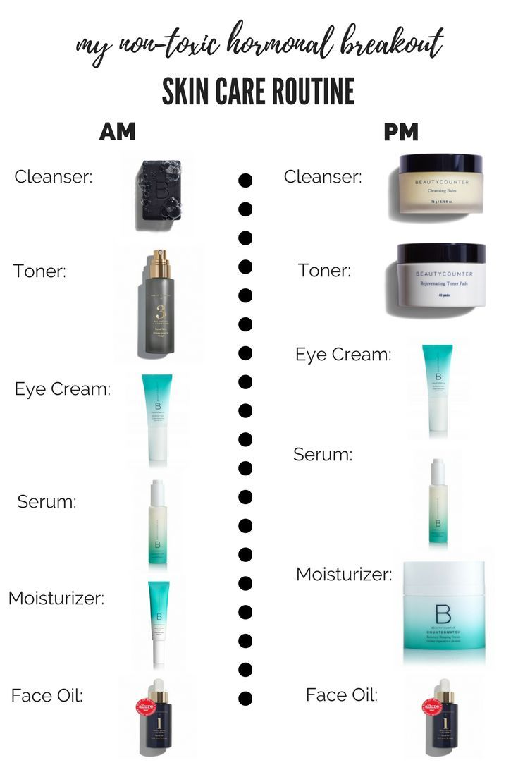 How I Ve Controlled My Hormonal Acne With 6 Simple Easy To Use Non Toxic Clean Skin Care Products Fr Skin Care Treatments Hormonal Acne Safe Beauty Products