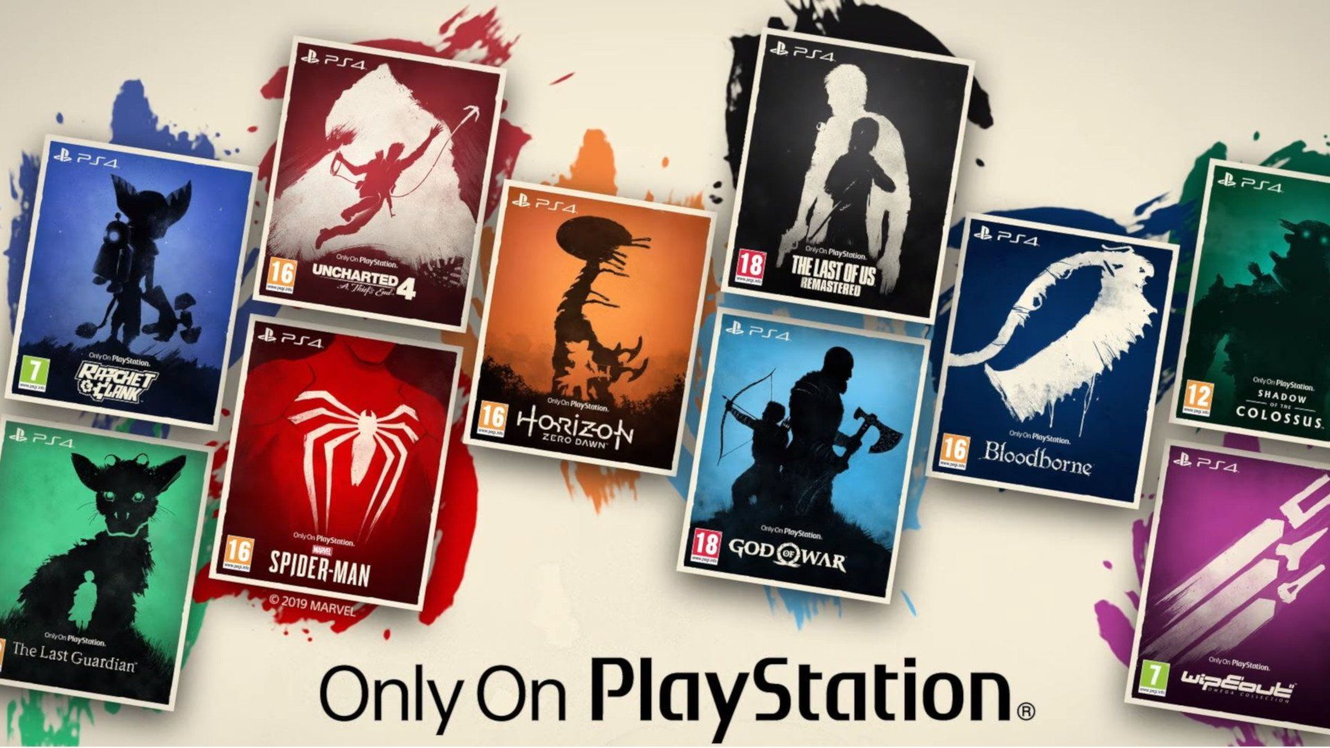 Only On Playstation Launches In Uk Gives 10 Ps4 Games Lovely New