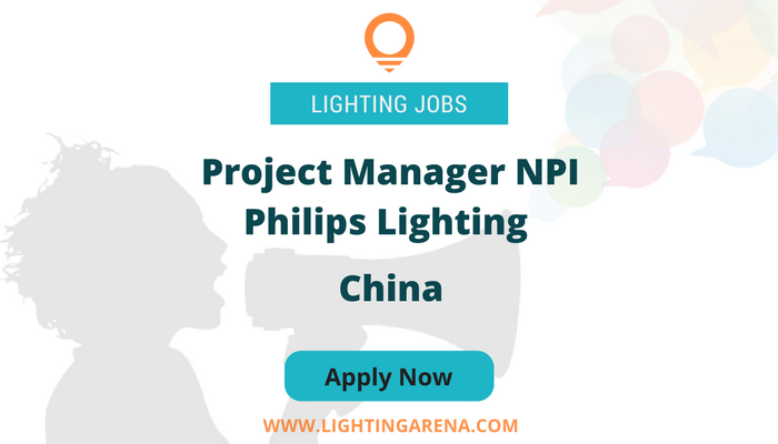 Project Manager Npi Philips Lighting  China HttpsWww