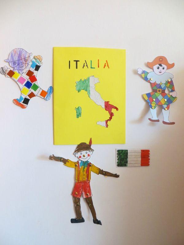 Italie : cuisine, drapeaux et décos !