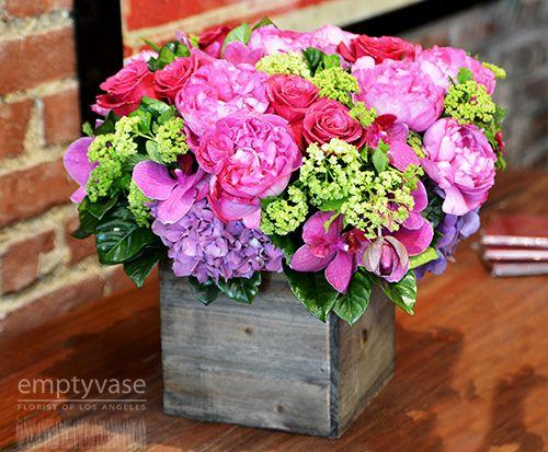Empty Vase Florist Of Los Angeles Daily Flower Arrangements