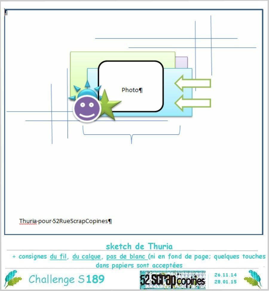 Challenge S 189 -sketch Thuria consignes