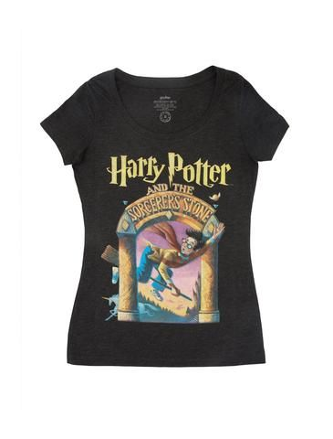 48509b775 Harry Potter and the Sorcerer's Stone Women's Scoop T-Shirt ...