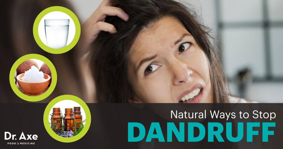 How to get rid of dandruff 10 natural remedies dr axe