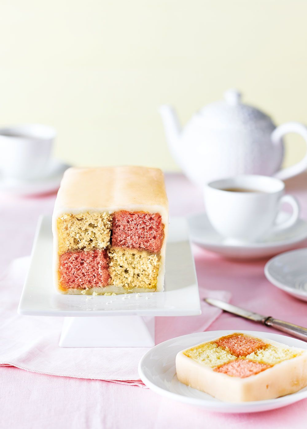Battenberg cake | Recipe | Pinterest | Real foods, Cake and Dinners