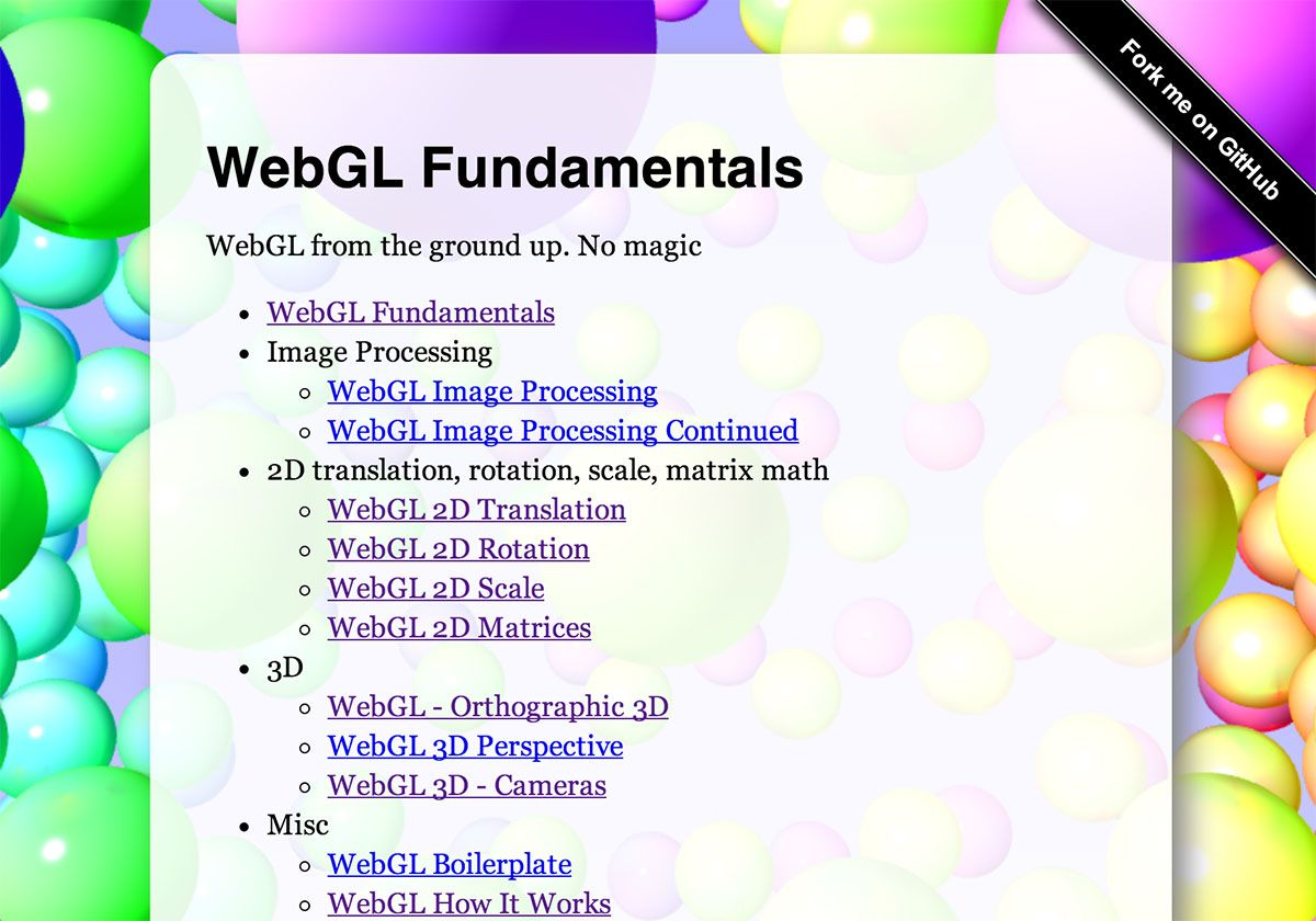 Your first WebGL lesson starting with the fundamentals   Cool Code