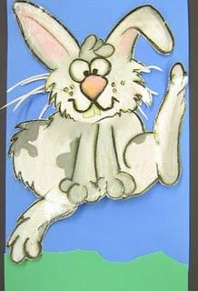 Fifth Grade Fuzzy Bunny Art Fondos