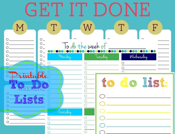 free printable daily to do list template