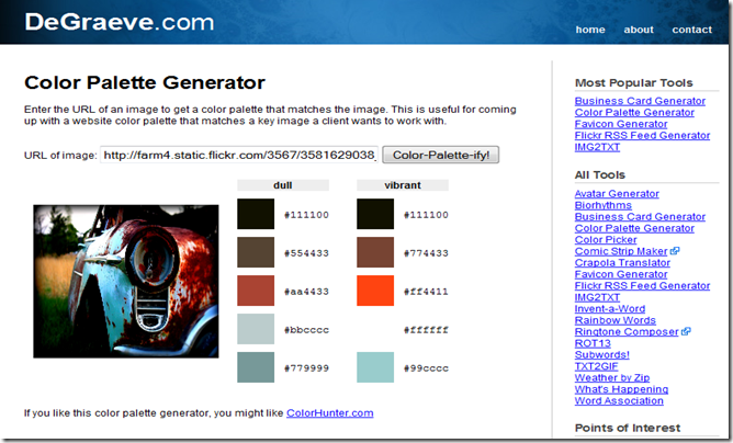Awesome list of sites that let you play with and choose color.
