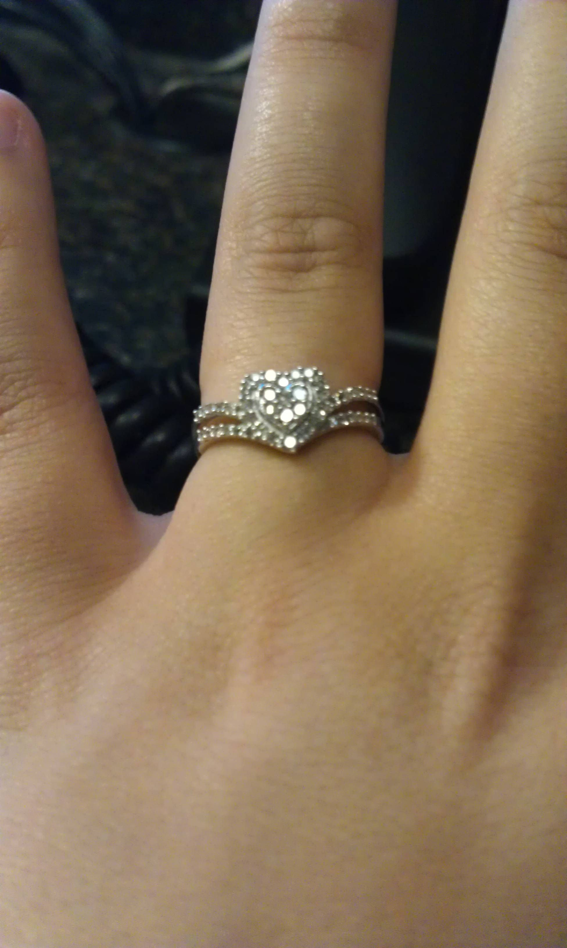 3rd diamond ring from the boyfriend <3