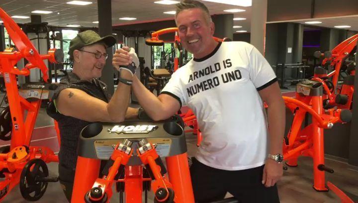 Letzte Woche hatten wir Schauspieler und Synchronstimme @martin_semmelrogge_official bei uns in Gym...