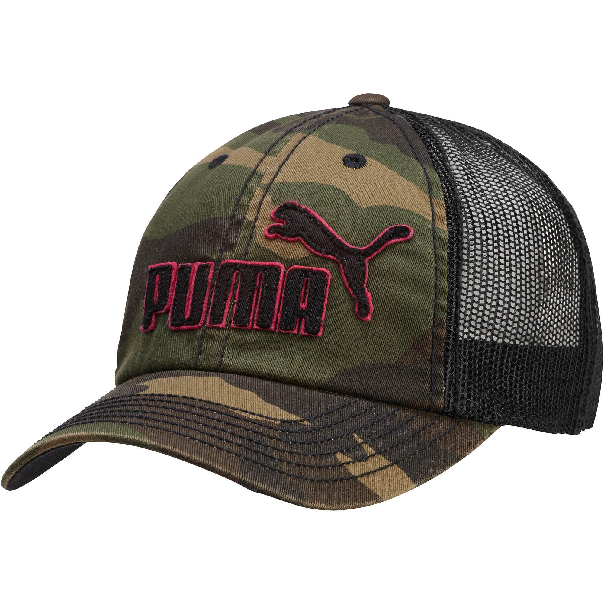 7e74b2d1fb3 PUMA Frat Girl Washed Mesh Snapback Hat