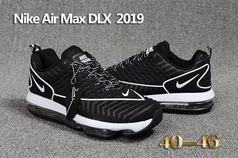 Men's Nike #AirMaxDLX 2019 BlackWhite 849559 002   Nike