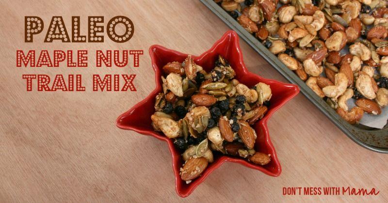 Paleo Trail Mix – Maple Nut Flavor