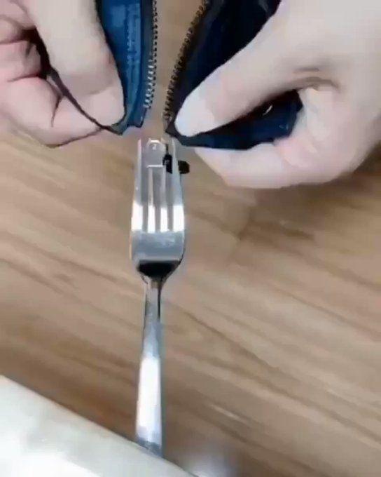 Zipper Repair Hacks Straw