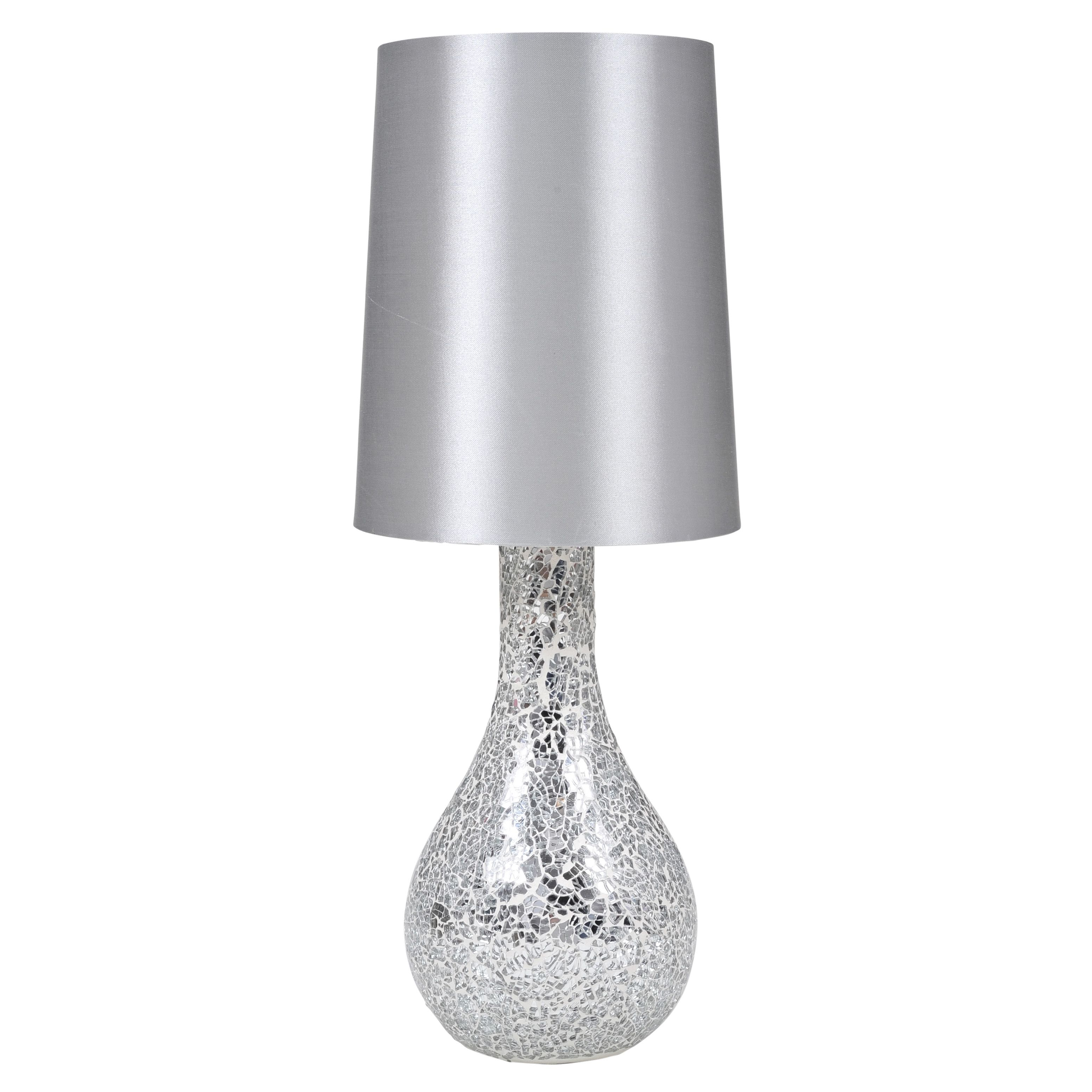"Urban Shop Mosaic Glass 17"" Table Lamp & Reviews | Wayfair"