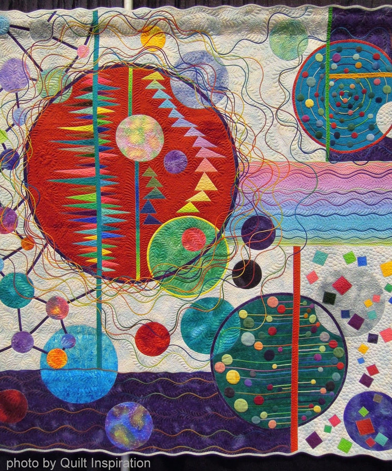 Moderno Quilt Mese: trapunte arte giapponese