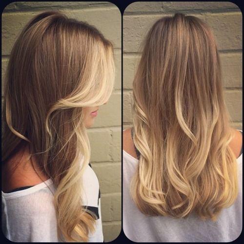 #Flamboyage biondo #hairs #capelli