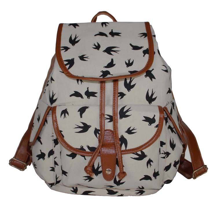 Find More Backpacks Information about FLYING BIRDS !2015 new Printed canvas shoulder Backpack College School backpack Flowers Women Rucksack hiking backpack B266,High Quality backpack print,China backpack factory Suppliers, Cheap backpack picture from The Sunny Day on Aliexpress.com
