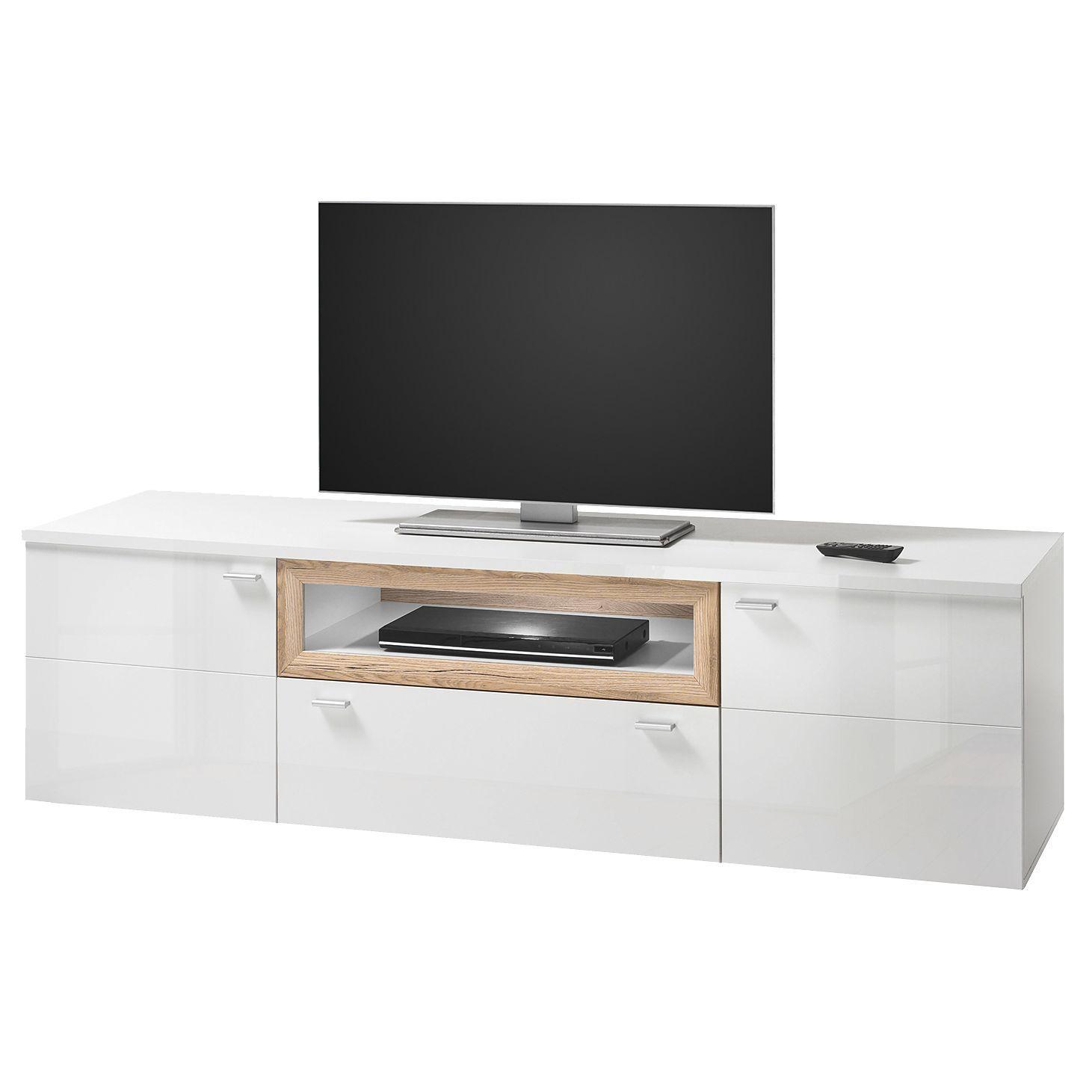 Ansprechend Tv Tisch Foto Von Wohnzimmermöbel Massiv Modern | Lowboard Schwarz Matt
