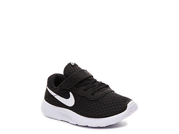 Boys Tanjun Infant & Toddler Sneaker -Black/White