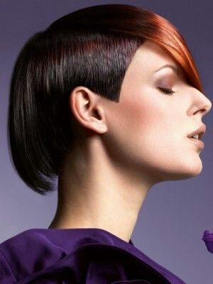 Colorful Pixie Hairstyle with undercut Photo 3 of 3