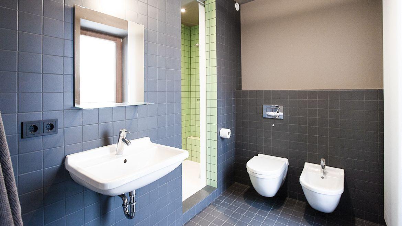 Design-Badezimmer im Loft Gericht17 #apartment #Berlin #Wohnung