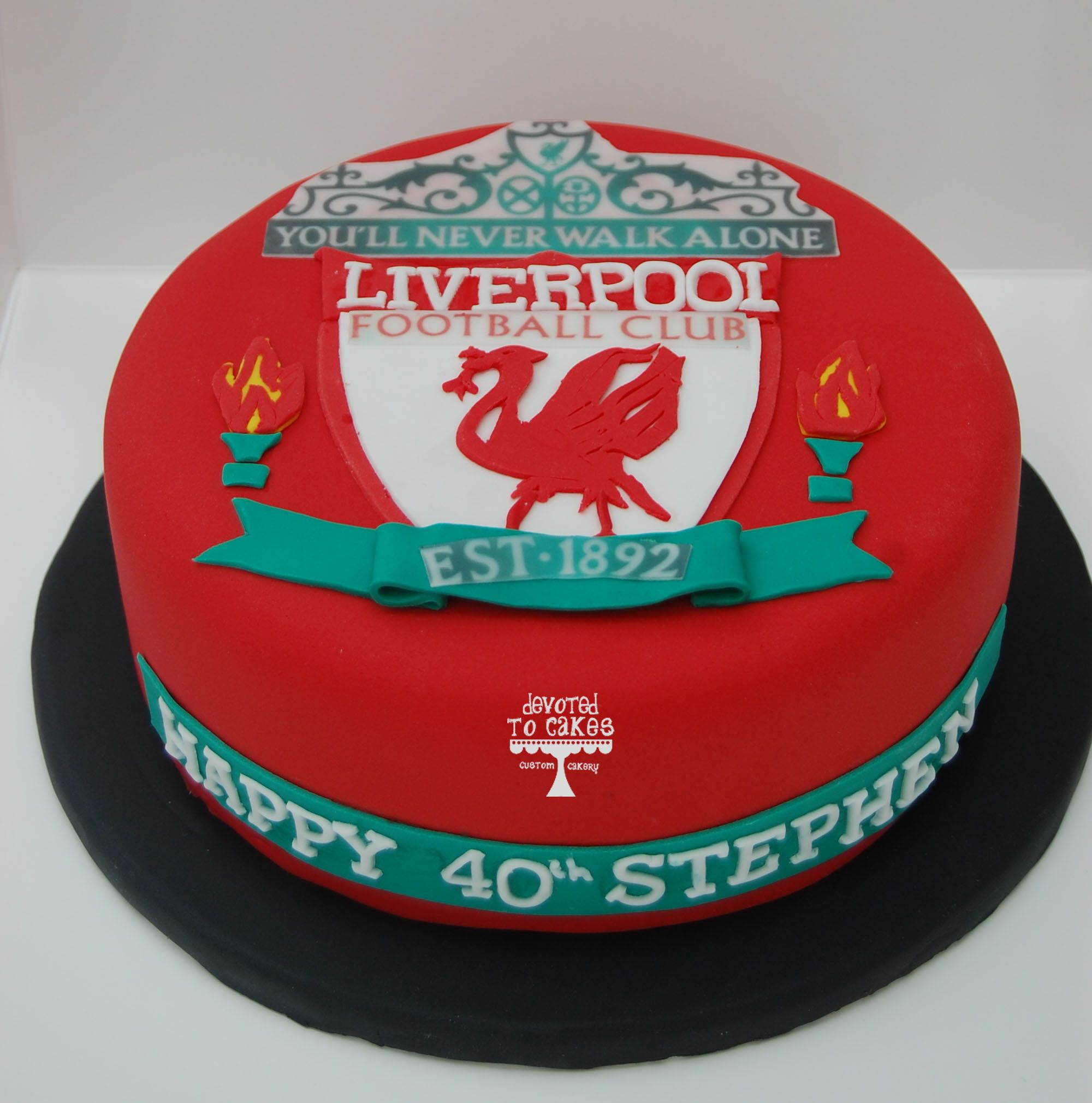 Liverpool Bedroom Accessories Liverpool Football Club Birthday Themed Cake Created By Villa