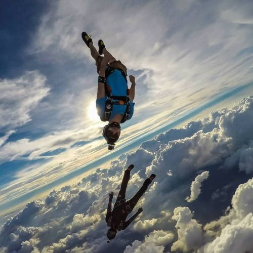 Insane freefly in clouds. Picture by Tommy Miller. | What ...
