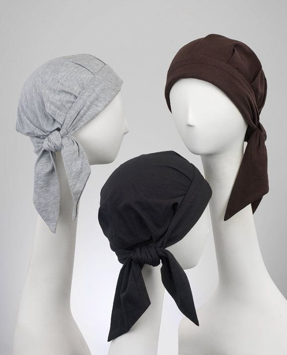 Tie-Back cancer scarf. Pleats for lift and body and a lighty padded ...