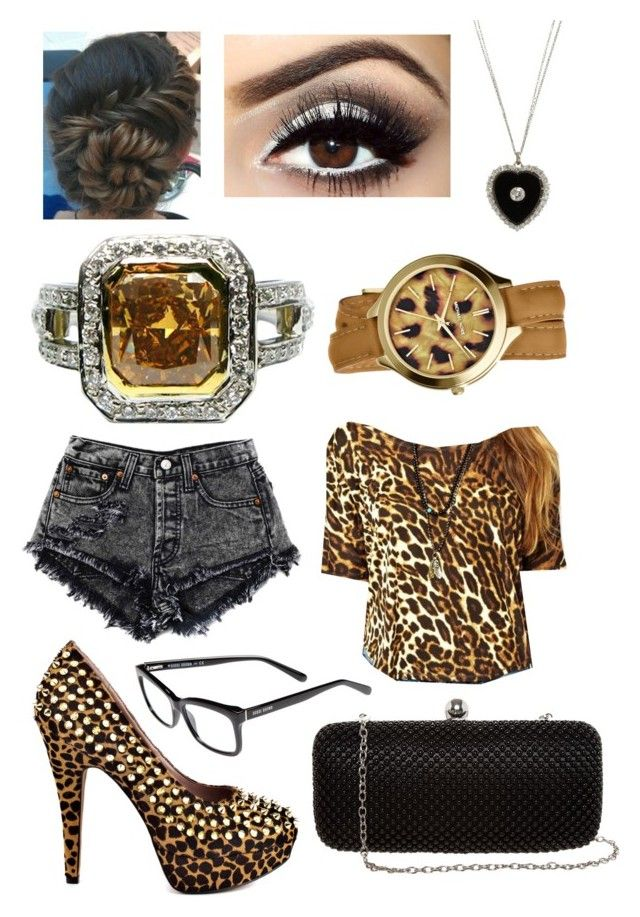 """""""Cheetah Is Nice!"""" by beingprettyrocks ❤ liked on Polyvore featuring Bobbi Brown Cosmetics, Vince Camuto, Denim & Supply by Ralph Lauren, Renee Lewis, SELECTED and Michael Kors"""