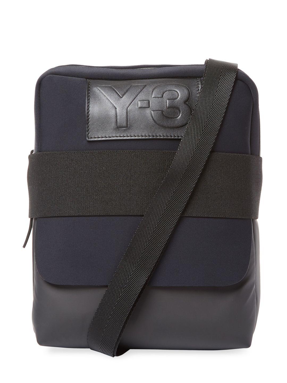fc6372b889 Y-3 QASA REPORT MESSENGER BAG.  y-3  bags  shoulder bags  polyester ...