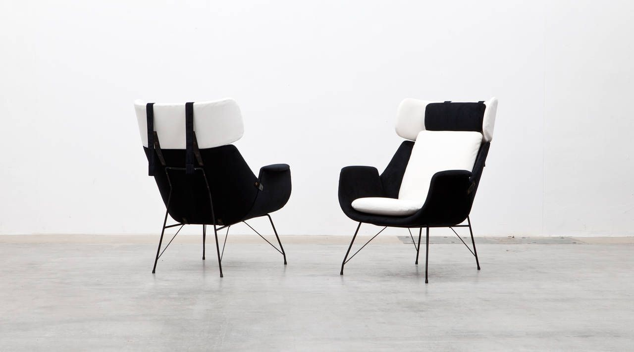 Augusto Bozzi Lounge Chairs