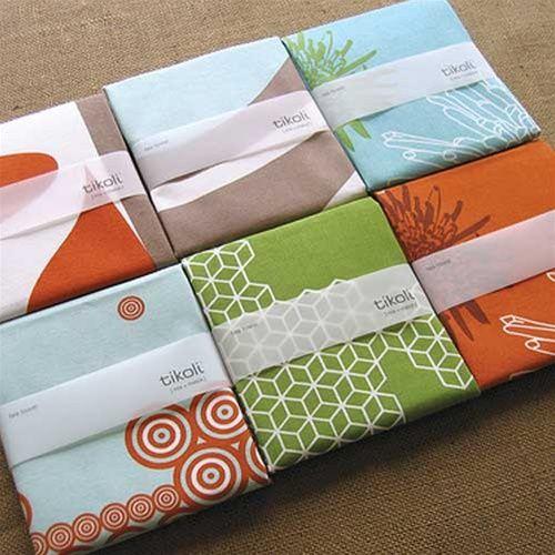 Tikoli Modern Tea Towels Via Shopgrounded.com