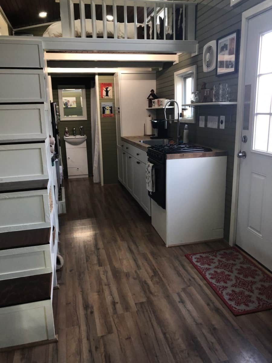 24ft Off Grid Tiny House On Wheels Tiny House For Sale In King William Virginia Tiny House Li Tiny House Listings Off Grid Tiny House Tiny Houses For Sale