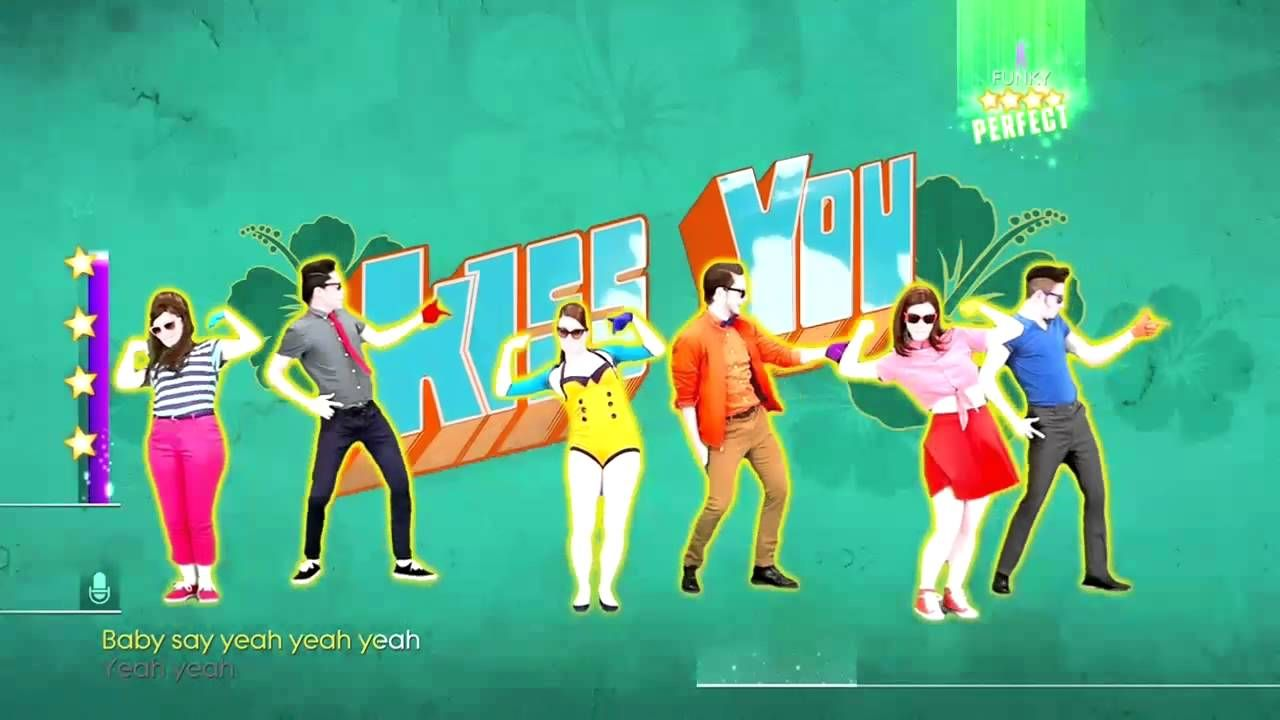 Just Dance 2014 XBOX ONE Kiss You 6 Players Gameplay ...