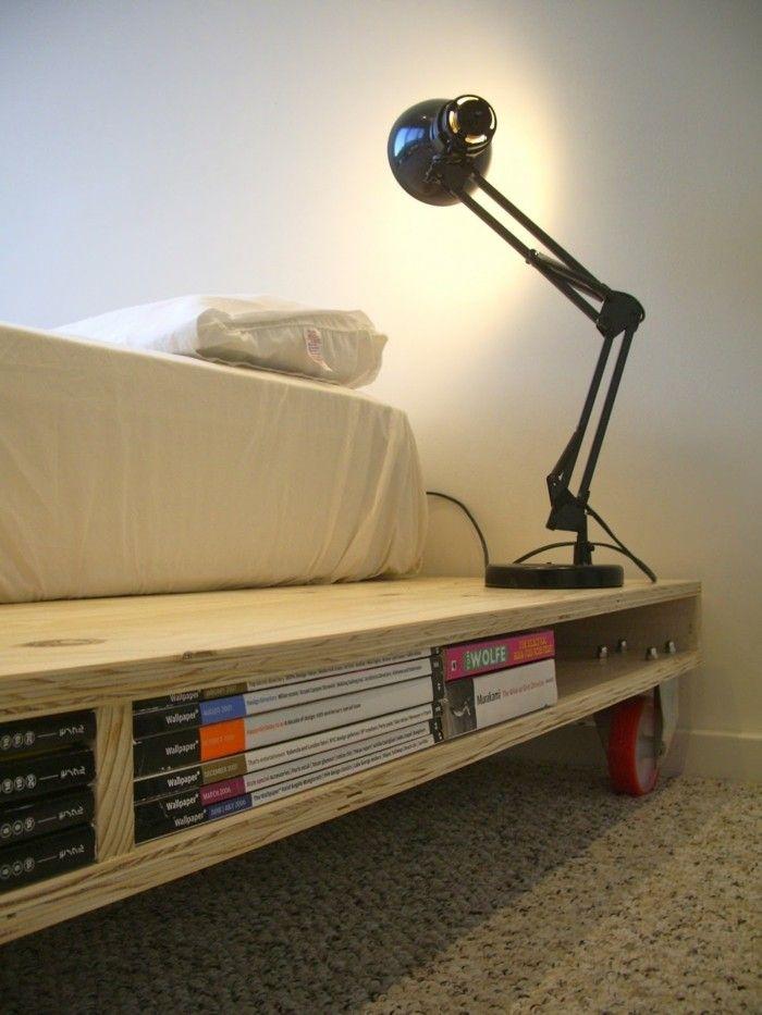 Wunderbar Bett Selber Bauen Funktionales Design Mit Stauraum Ideen | Schlafzimmer  Ideen   Schlafzimmermöbel   Kopfteil | Pinterest