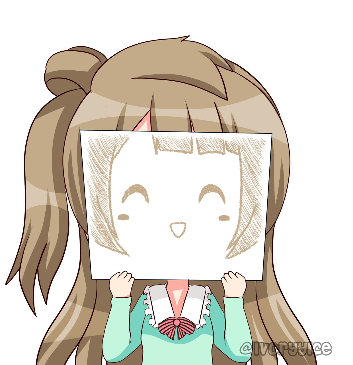 Happy cheerful girl  Anime love, Chibi, Anime chibi