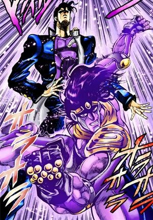 Jojo S Bizarre Adventure Jotaro Kujo Star Platinum Jojo Bizzare Adventure Jojo Anime Jojo Bizarre