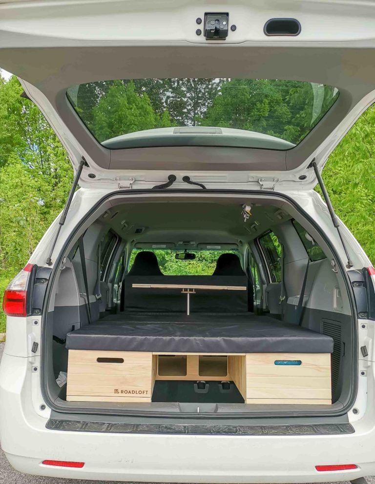Roadloft Conversion Kit Toyota Sienna Minivan Camper Conversion Suv Camper Camper Conversion