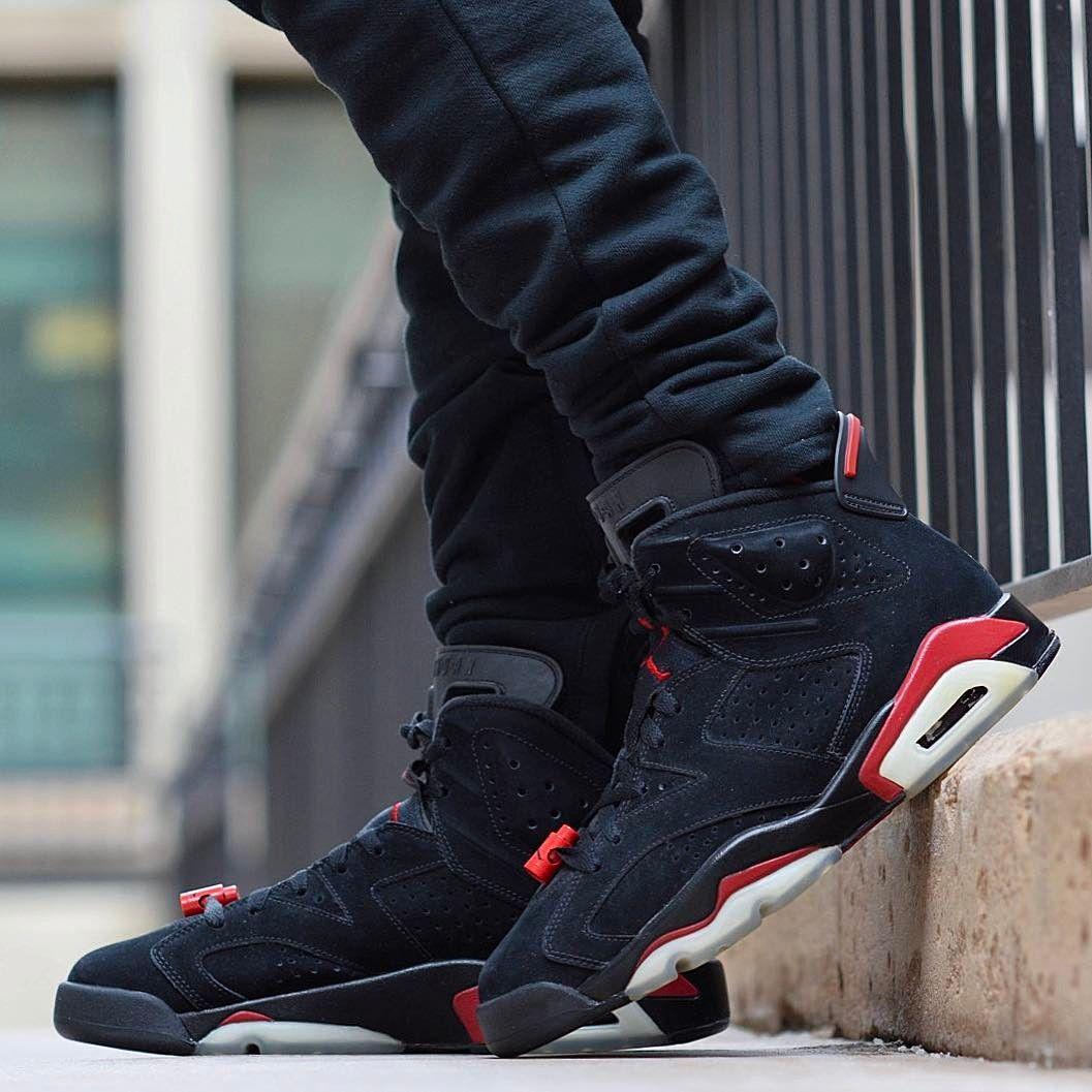 Air Jordan 6 Retro Og Black Infrared Air Jordans Air Jordan Sneakers Best Sneakers