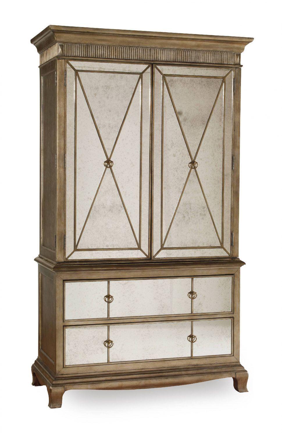 Bedroom Furniture:Wooden Classic Wardrobe Cabinet Vintage Armoire ...
