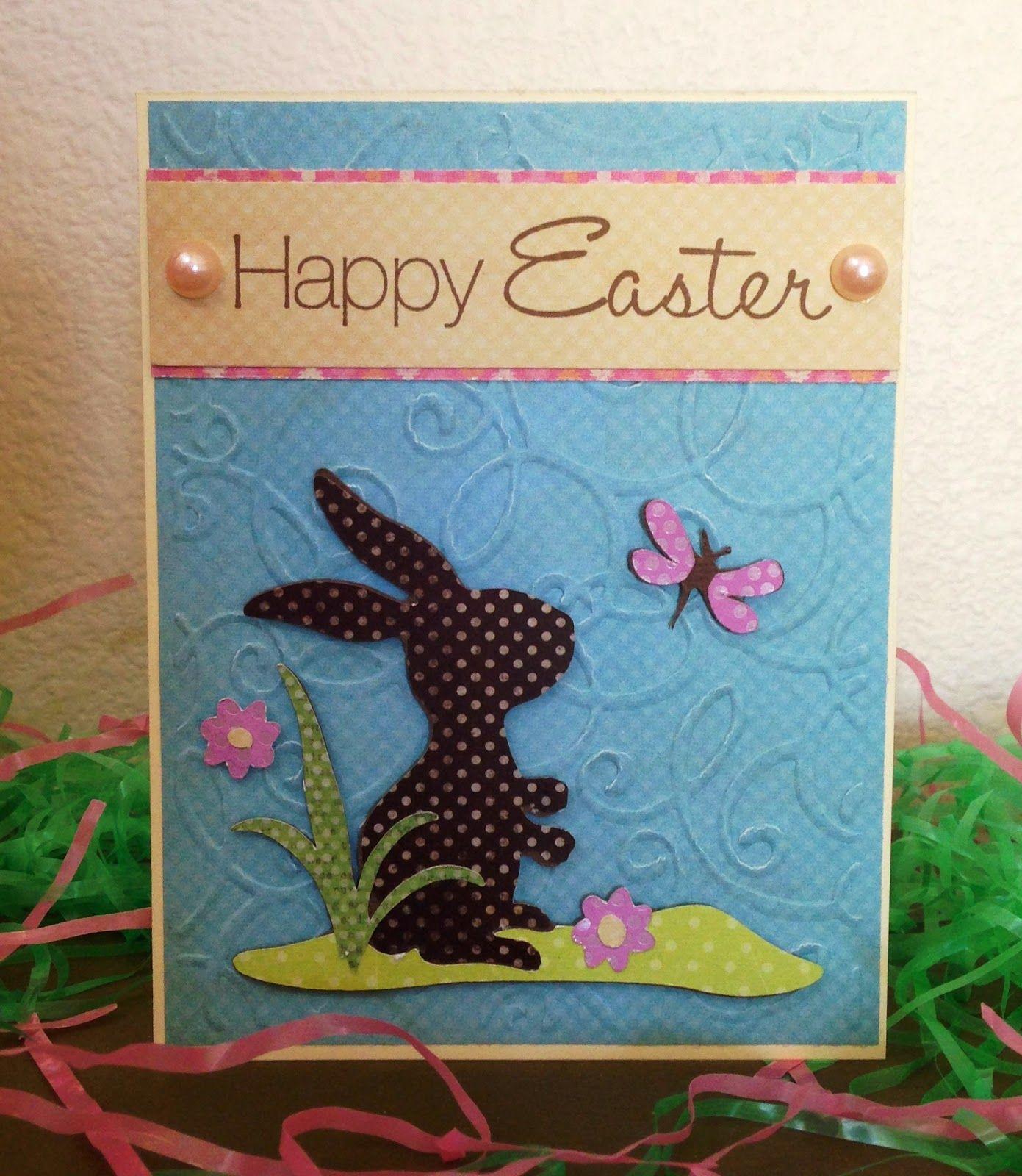 Mollie's Motif: BBTB2 - Happy Easter (Bunny) using Cricut Kate's ABC's