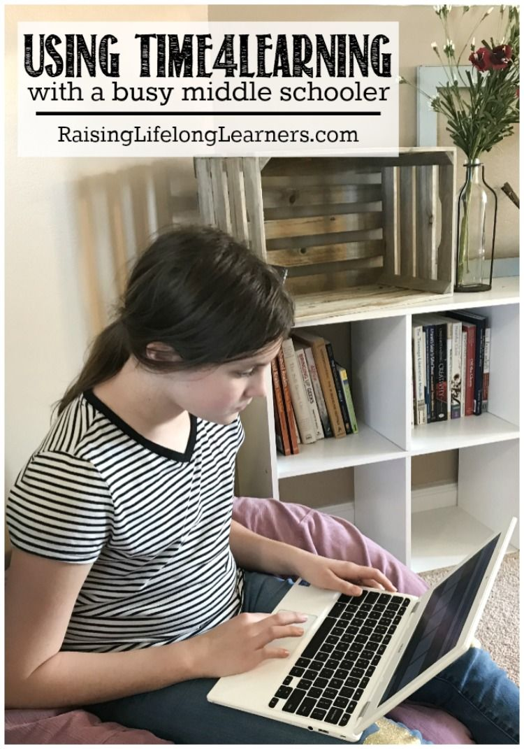 Using Time4Learning with a Busy Middle Schooler | Middle ...