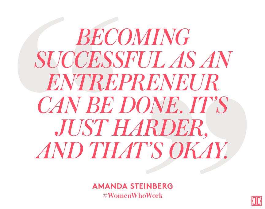 Becoming successful is hard work. #WomenWhoWork