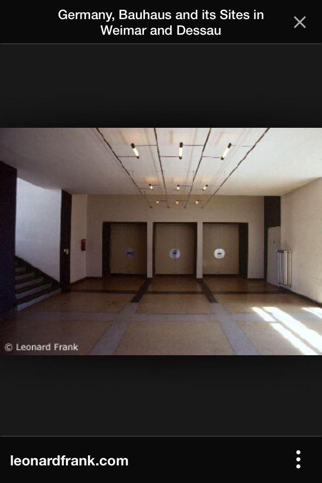 Bauhaus Dessau Germany Doors to auditorium Wonderful & Bauhaus Dessau Germany Doors to auditorium Wonderful | Treasures of ...