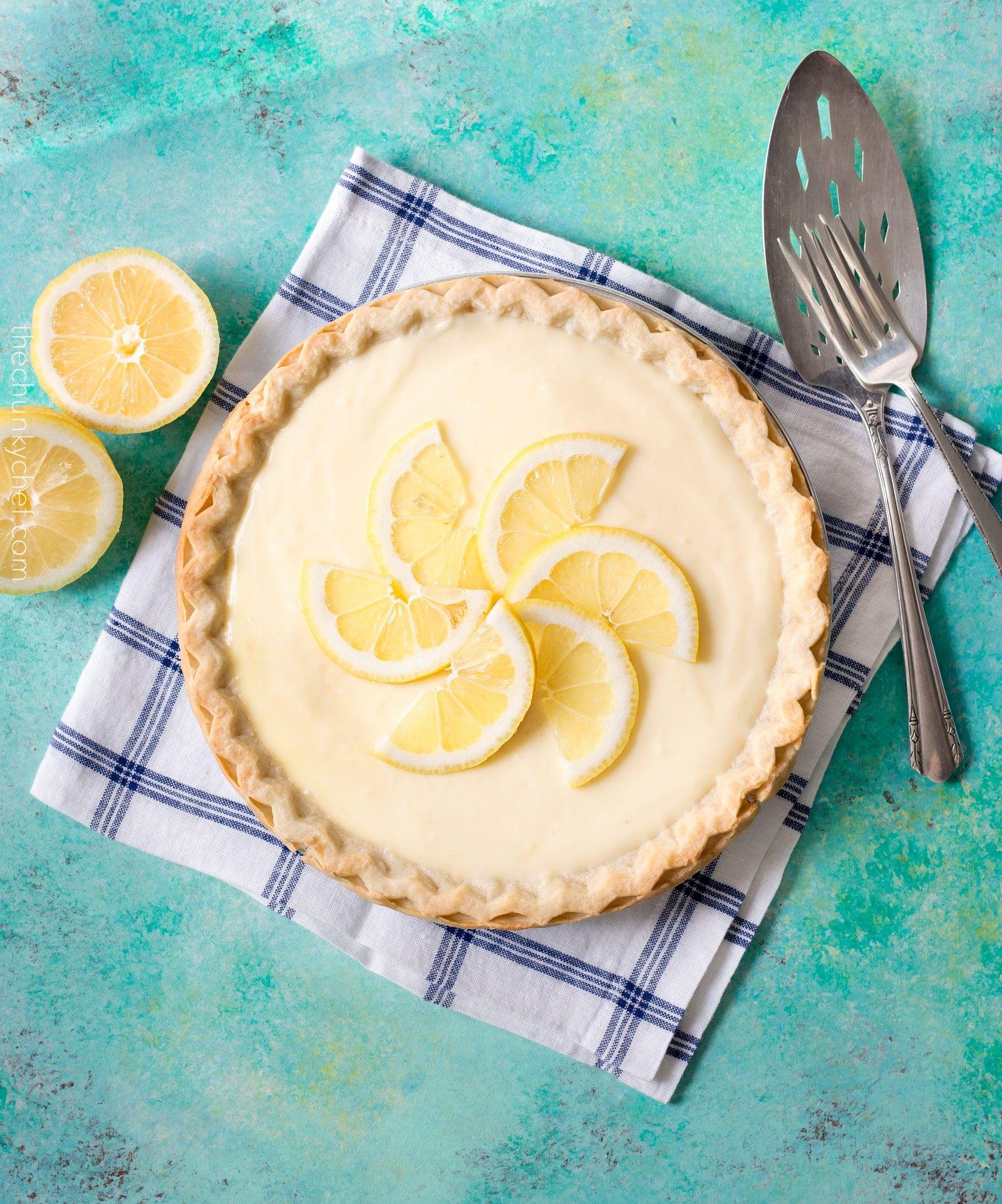 Creamy Sour Cream Lemon Pie This Almost No Bake Pie Is Cool Creamy Rich And Bursting With Summer Lemon Flavo Sweets Recipes Lemon Pie Lemon Sour Cream Pie