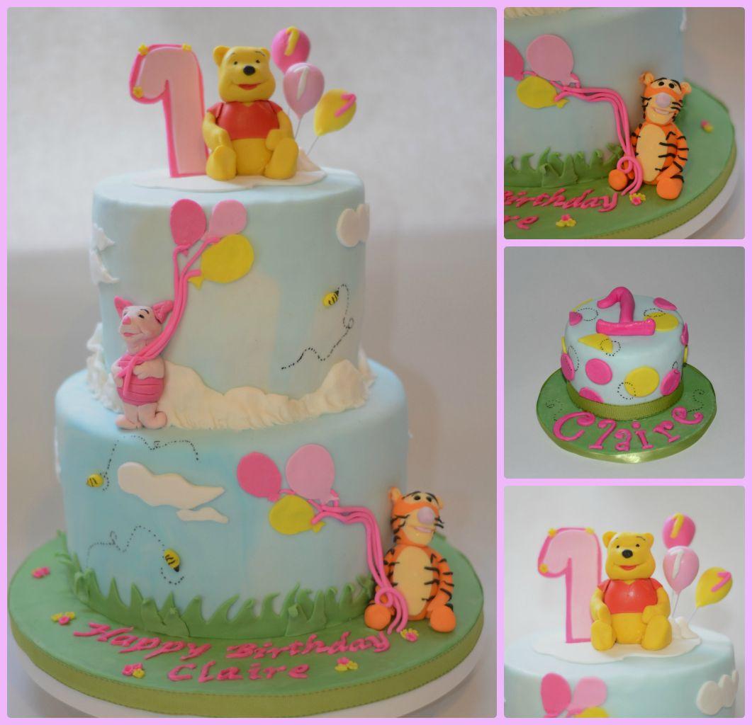 winnie pooh first birthday cake | eBay