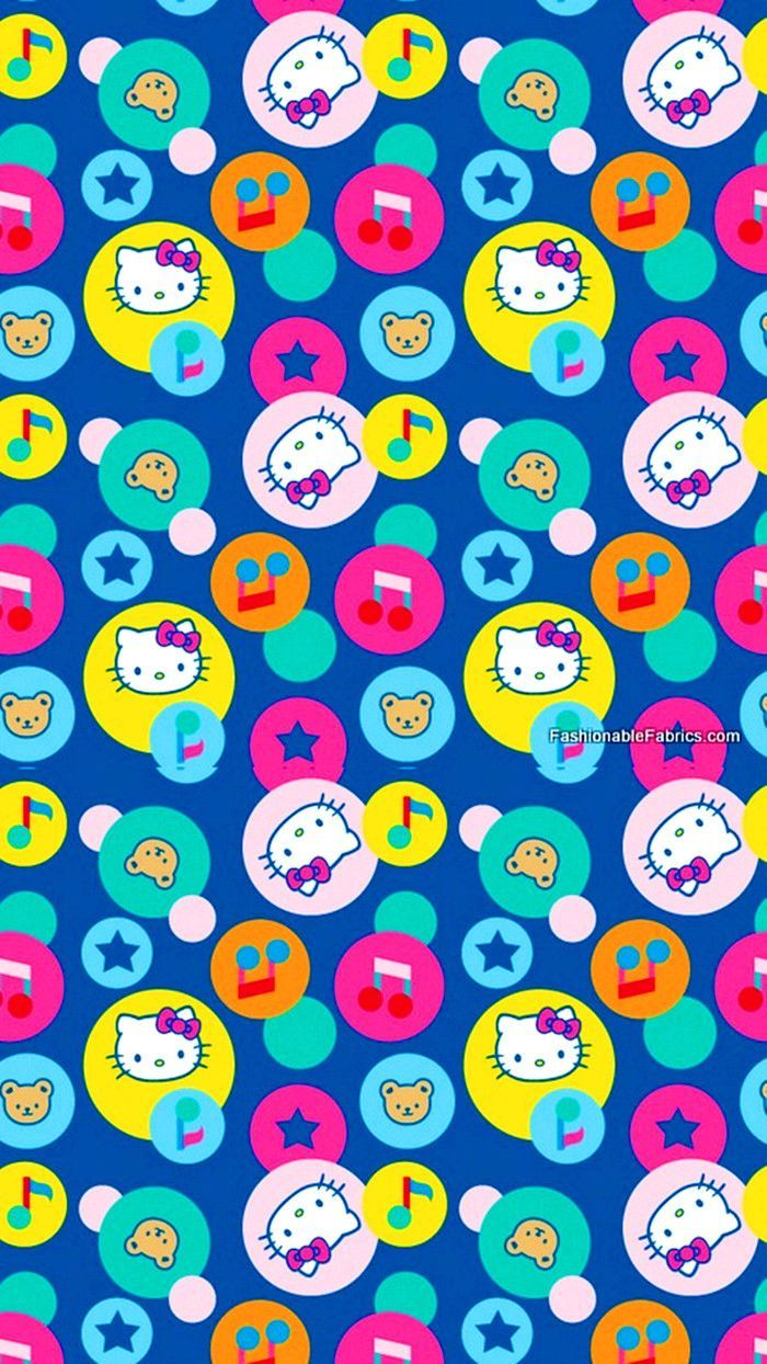 patterns.quenalbertini: Hello Kitty iPhone Wallpaper  Patterns  Pinterest  Hello kitty